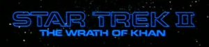 Star Trek II: The Wrath of Khan Title
