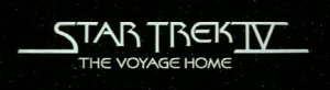 Star Trek IV: The Voyage Home Title