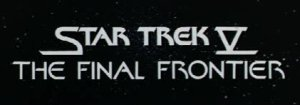 Star Trek V: The Final Frontier Title