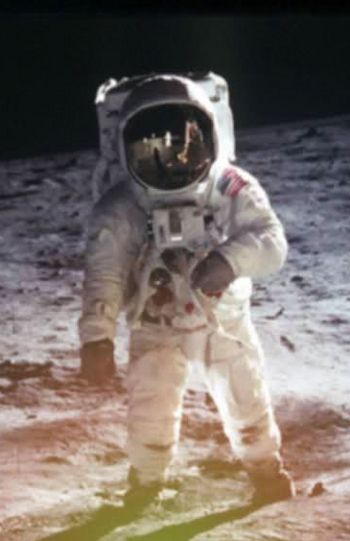 Neil Armstrong on Lunar Surface (TOS-00)