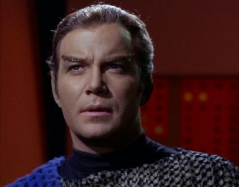 James T. Kirk disguised as a Romulan (TOS-59)