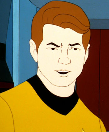 Young James T. Kirk (TAS-22)